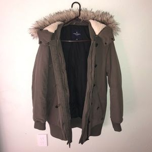 American Eagle Outfitters Parka Jacket - Large
